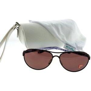 OO4079-10-59 Women Pink Frame Polarized Sunglasses